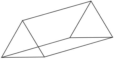 Quantas arestas possui um prisma pentagonal? 4