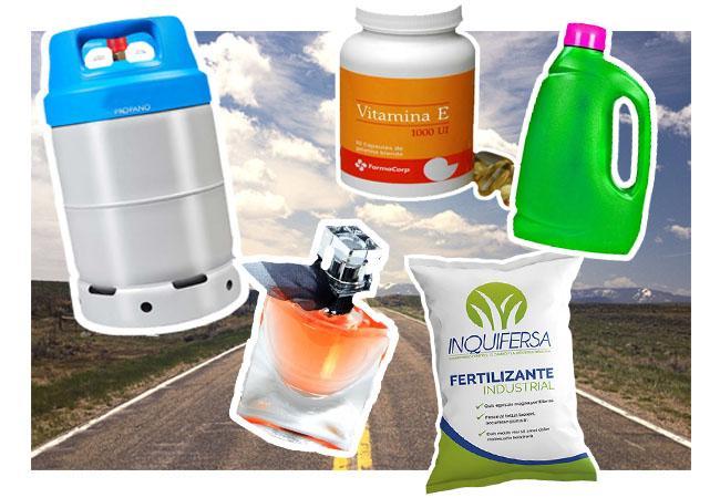 10 produtos petrolíferos para uso diário