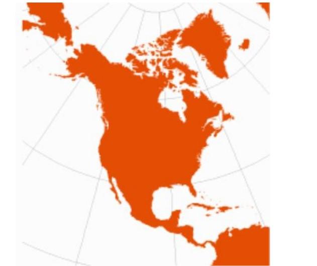 Projeção cartográfica cônica: características, vantagens, desvantagens 2