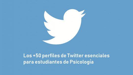 Os 50 perfis essenciais do Twitter para estudantes de Psicologia 1