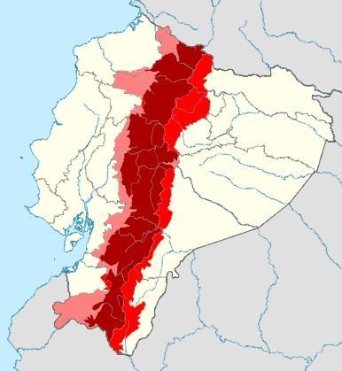 Região Interandina do Equador: características, fauna e flora 1