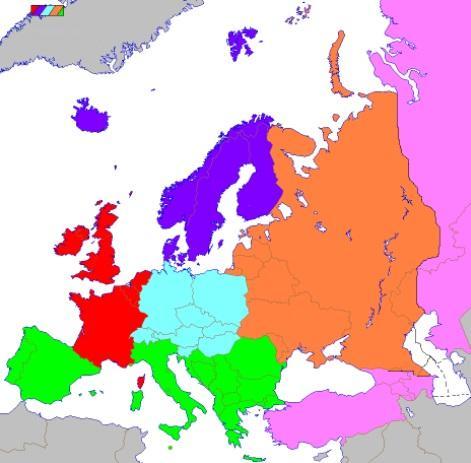 As 7 regiões culturais da Europa e suas características 1