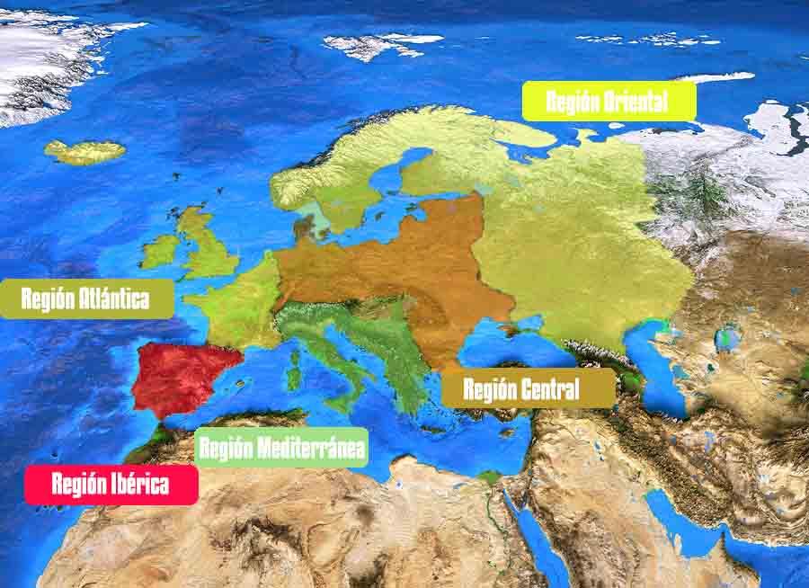 As 5 principais regiões naturais da Europa 1