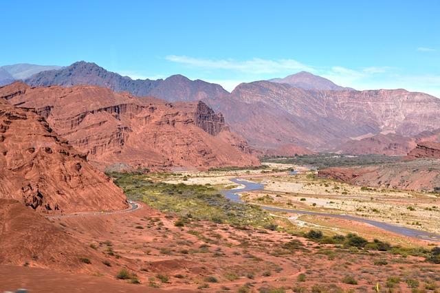Qual é o alívio da região andina? 1