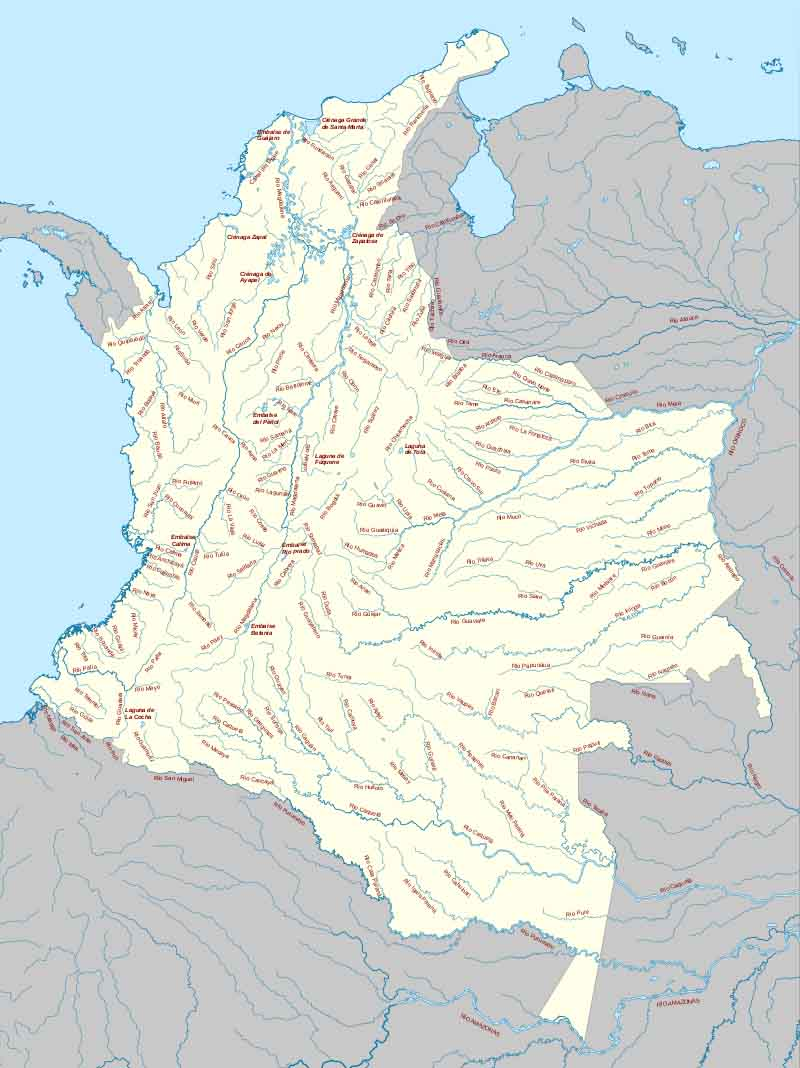 As 5 encostas da Colômbia 2