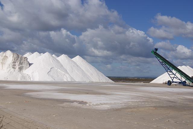 Como funciona uma mineração de sal e seu impacto no meio ambiente