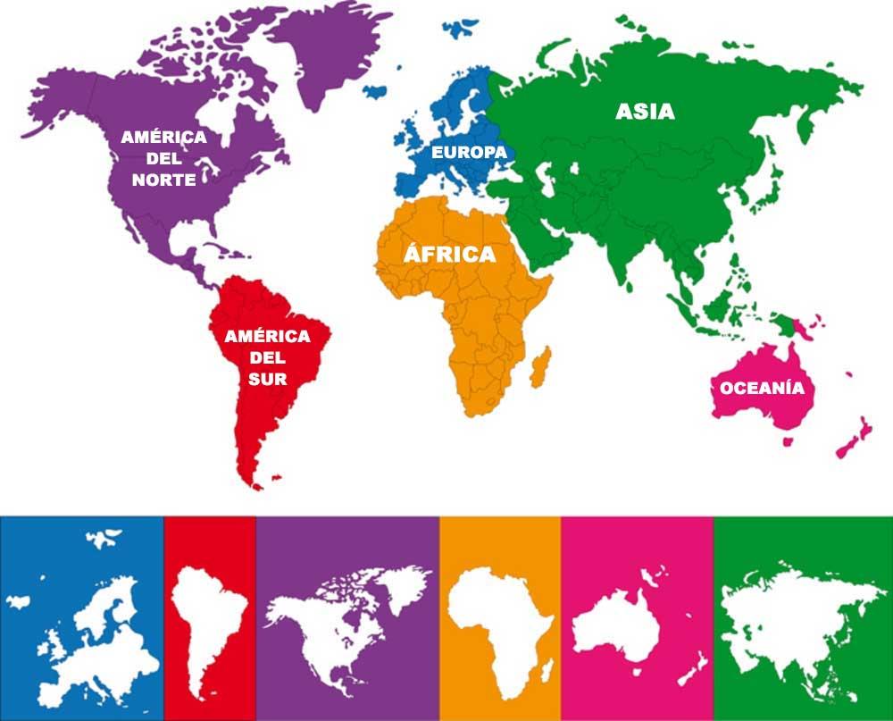 O que separa um continente de outro? 1