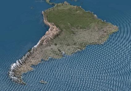 Sistema montanhoso da América do Sul com clima frio ou polar 1