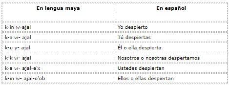 Quais são os pronomes em maia? (Com exemplos) 4