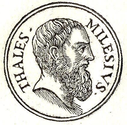 Thales of Miletus: biografia, contribuições, pensamento 2
