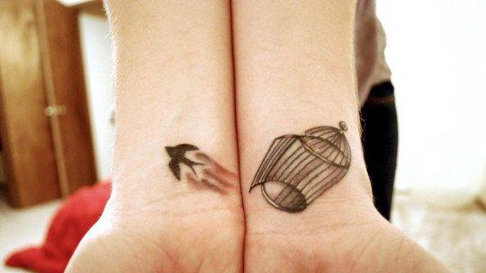 30 pequenas tatuagens para olhar na sua pele 1
