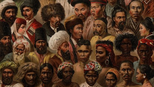 A teoria poligênica das raças de Samuel George Morton 1