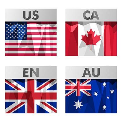 Os 8 tipos de inglês mais falados no mundo 1