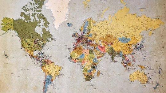 Os 8 principais tipos de mapas e suas características 1