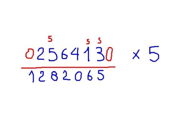 Método de Trachtenberg: o que é, exemplos 5