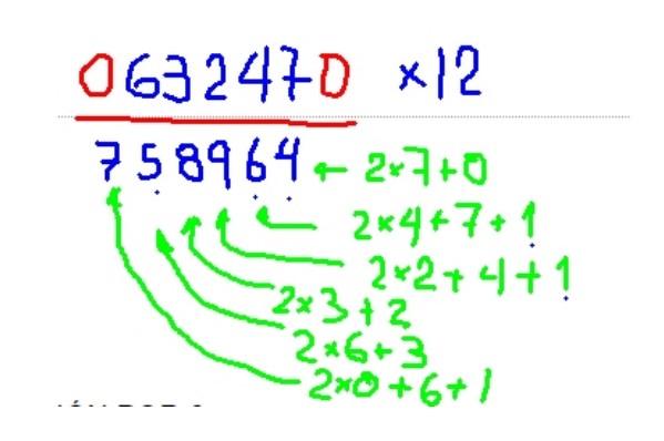 Método de Trachtenberg: o que é, exemplos 2