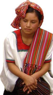 Traje típico de Huehuetenango e suas características 2