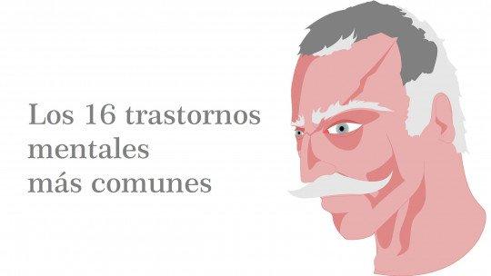 Os 16 transtornos mentais mais comuns 1