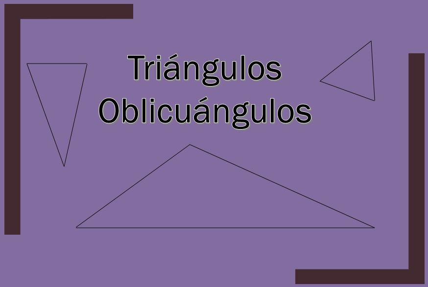O que são triângulos oblíquos? (com exercícios) 1