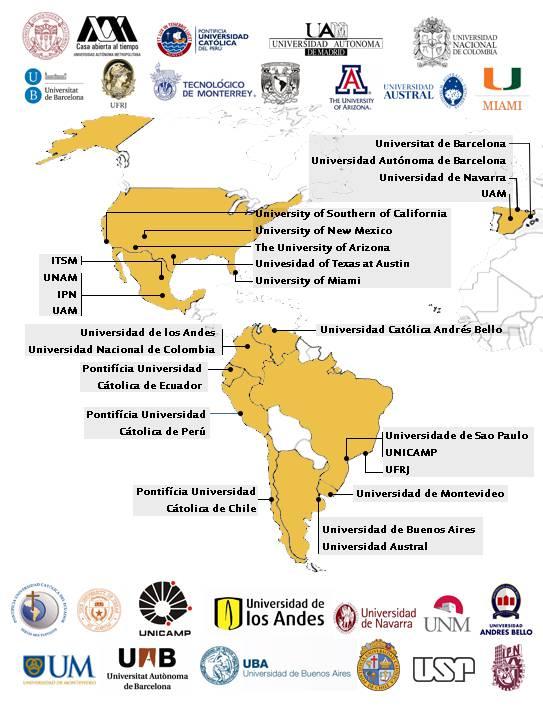 As 25 melhores universidades da América Latina e dos Estados Unidos 1