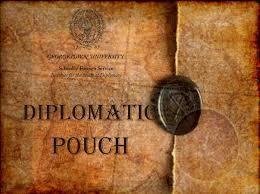 Bolsa diplomática: Definição e Características 1