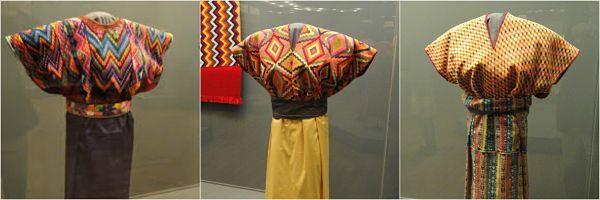 Roupas maias para homens e mulheres