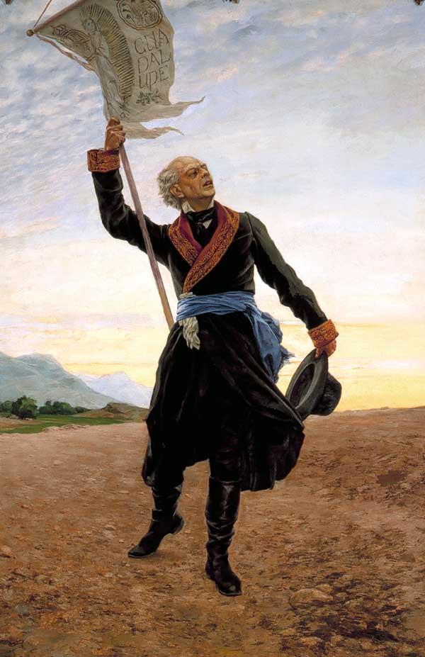 Em que século começou a vida independente do México? 1