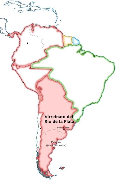Vice-reinado do Rio da Prata: causas, história, política 1