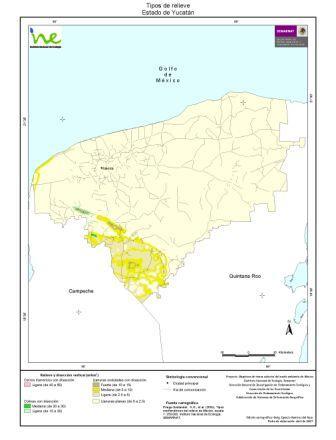Orografia de Yucatán: Principais Características 1