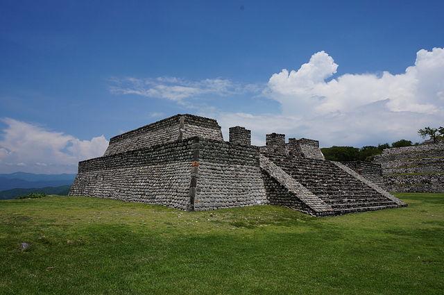 Zona arqueológica de Xochicalco: características, arquitetura 1