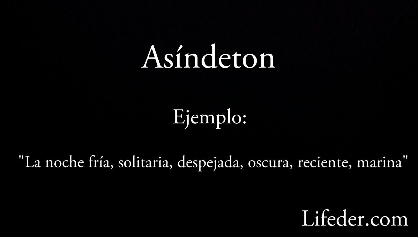 Asyndeton: características, funções e exemplos
