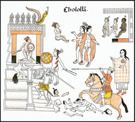 Massacre de Cholula: antecedentes, causas, desenvolvimento, consequências