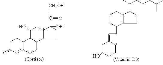 Hormônios esteróides: estrutura, síntese, mecanismo de ação 4