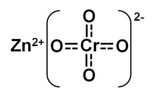 Cromato de zinco: estrutura, propriedades, produção, usos