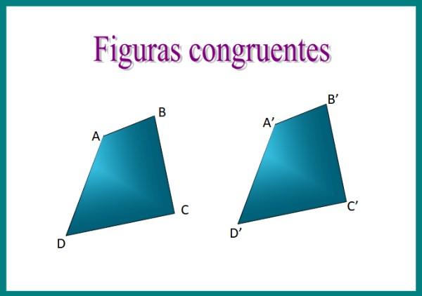 Congruência: figuras congruentes, critérios, exemplos, exercícios