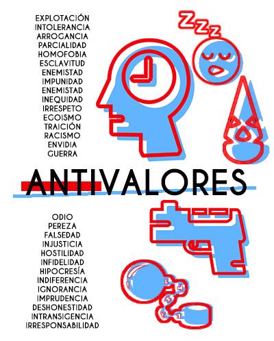 Anti-valores: características, exemplos e consequências 3