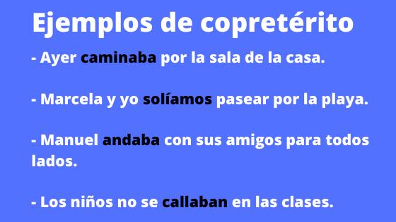 O que são verbos copreteritos? Recursos e exemplos