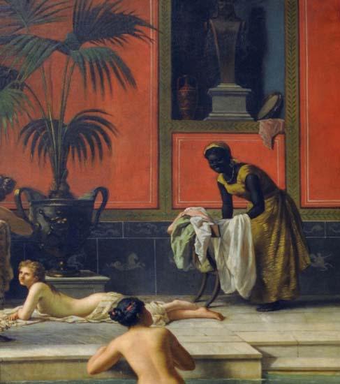 Qual era a situação das mulheres escravizadas em Roma?