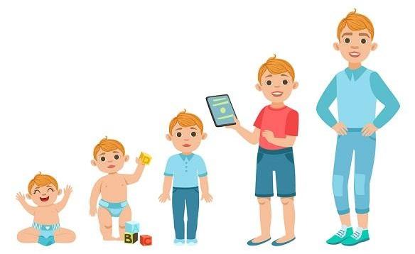 As 12 etapas do desenvolvimento humano e suas características