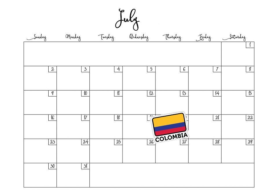 Os 6 feriados nacionais mais importantes da Colômbia 7