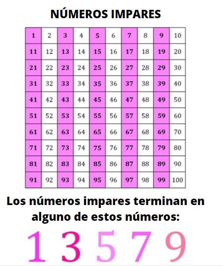 Números ímpares: como distingui-los, exemplos e exercícios 8
