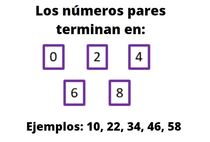 Números pares: como identificá-los, exemplos, exercícios