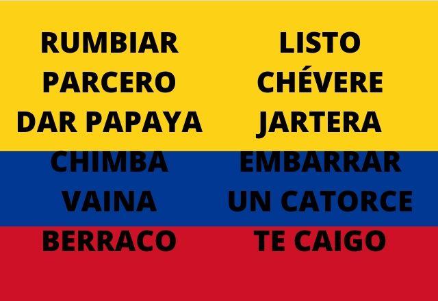 As 73 frases mais comuns da Colômbia