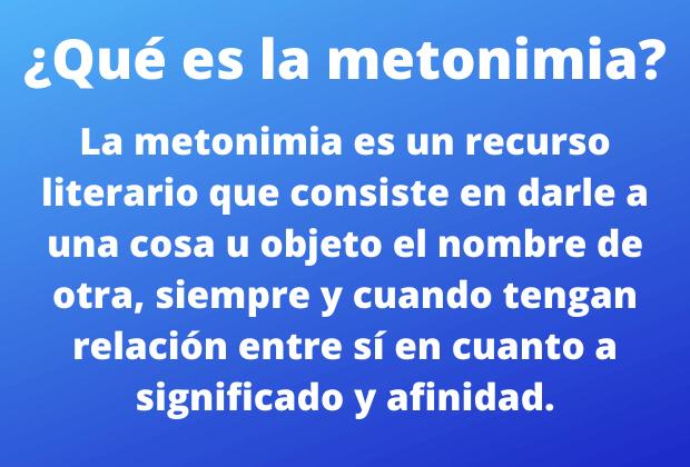 Metonímia: conceito e exemplos em frases, poemas e músicas