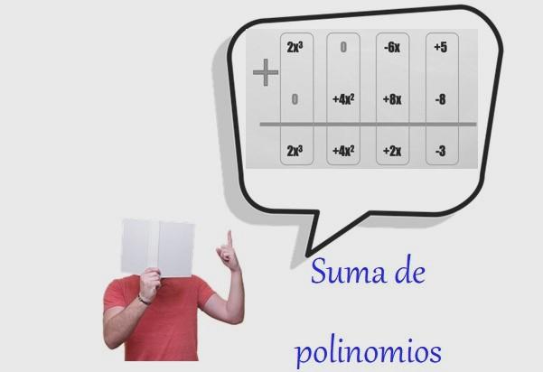 Soma de polinômios, como fazê-lo, exemplos, exercícios