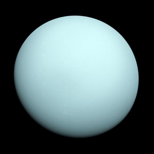 Urano (planeta): características, composição, órbita, movimento 11